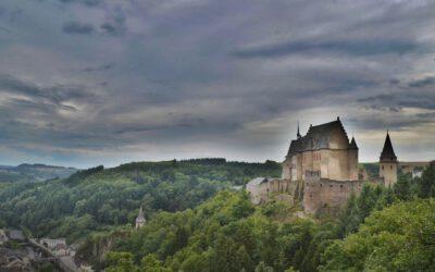 Jak Anička nocovala na hradě